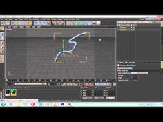 spline animation cinema 4D tutorial - YouTube