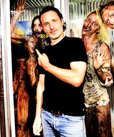 Andrew Lincoln, SDCC '15