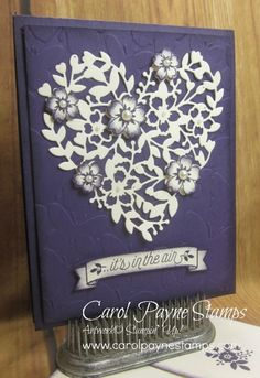 Bloomin' Love for Angela! by Carol Payne - Cards and Paper Crafts at Splitcoaststampers
