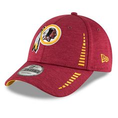 info for 6ed32 97a9d Men s Washington Redskins New Era Burgundy Speed Shadow Tech 9FORTY Adjustable  Hat, Your Price