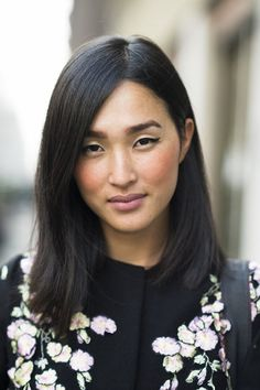 Nicole Warne #MFW #hair #makeup