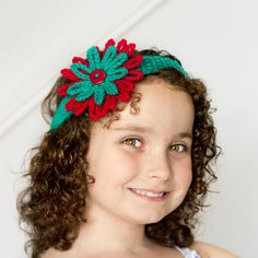 @Olivia Kent {My Favourite Things} has a cute Christmas crochet pattern that any little girl will love. Find your most festive yarn and get ready to crochet a Christmas fashion project that really blossoms.