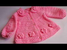 Saquito para Bebe - Tejidos a Crochet - YouTube