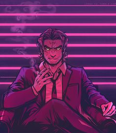 Mr. Wolf by lorna-ka.deviantart.com on @DeviantArt