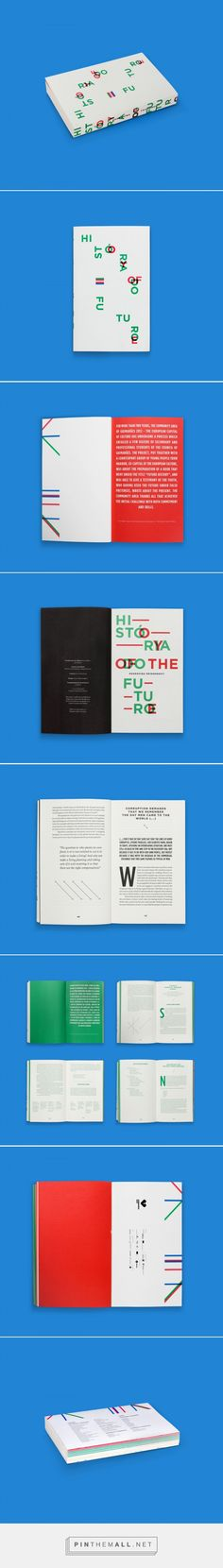 """""""History of the Future""""  Book on Behance - created via https://pinthemall.net"""