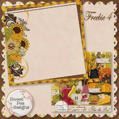 Scrapbooking TammyTags -- TT - Designer - Sweet Pea Designs,  TT - Item - Paper,  TT - Style - Stacked Paper, TT - Theme - Autumn or Thanksgiving