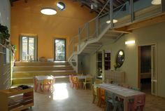 Reggio Classroom - levels for children to work on/explore