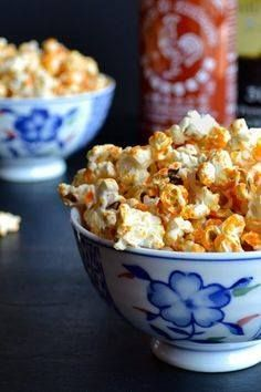Sriracha Popcorn - Y Sriracha Popcorn - You are going to love this fat-free method of popping corn! Add this spicy tangy sriracha topping and youve got the perfect healthy snack with lots of great flavor! Easy-peasy! From Taste Love and Nourish  Caroline  on TasteLoveAndNouri Recipe : http://ift.tt/1hGiZgA And @ItsNutella  http://ift.tt/2v8iUYW  Sriracha Popcorn - Y Sriracha Popcorn - You are going to love...