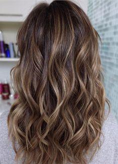 47 Highlighted Hair For Brunettes Caramel Highlights Pinterest