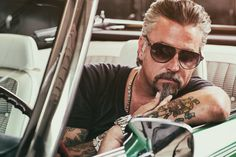 Fast N' Loud's Richard Rawlings {Gas Monkey Garage}...vroom vroom!!