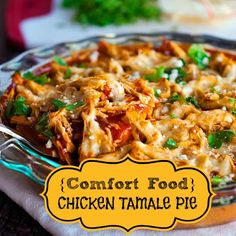 You won't even have to do the dishes after this YUMMY meal, your family will lick them clean! CHICKEN TAMALE PIE!!
