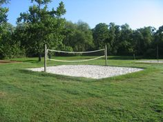 Incroyable Mini Sand Volleyball Court | Recreational Areas U0026 Activities