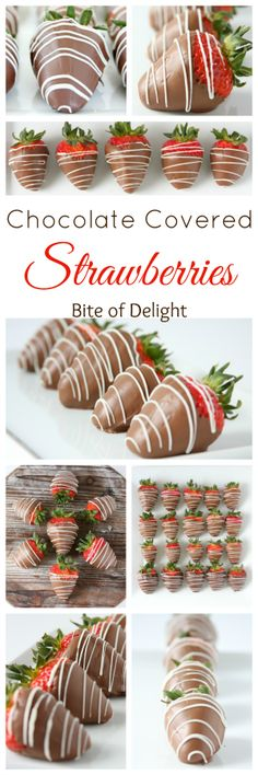 How to make perfect Chocolate Covered Strawberries! Bite of Delight