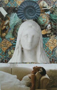 SoulCollage kaart Soul Collage, Collage Art, Deepest Gratitude, Art Journal Inspiration, Art Journaling, Spirituality, Artist, Cards, Painting
