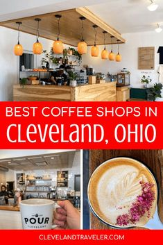 A guide to the best local coffee shops in Cleveland, Ohio. You won't find Starbucks on this list! All of these are independently owned Cleveland coffee shops. Best Iced Coffee, Best Coffee Shop, Great Coffee, Coffee Shops, Cleveland Food, Cleveland Restaurants, Cleveland Rocks, Beautiful Places To Travel, Cool Places To Visit