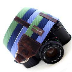 Sweet custom camera strap!