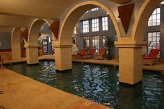 Too cold to swim outside?  At Buffalo Thunder Resort and Casino, this is the indoor option!