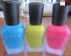 I finally completed my Zoya Mod Matte collection. Yay!
