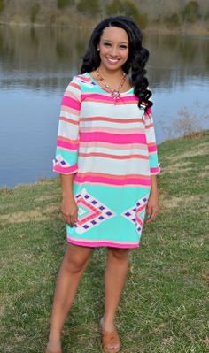 http://www.shopadorabelles.com/collections/dresses/products/pop-of-pink-dress