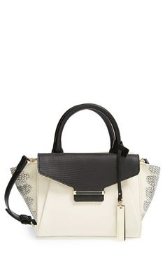 Vince Camuto 'Small Julia' Leather Satchel available at #Nordstrom