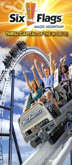 Ride the world famous Colossus wooden roller coaster at Six Flags Magic Mountain before it is shut down for good on 8/16! http://www.visitortips.com/usa/ca/fresno/mdr/brochure/six-flags-magic-mountain-25499/