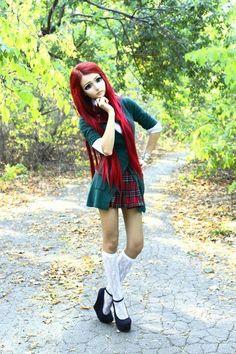 Anastasiya Shpagina the living manga doll