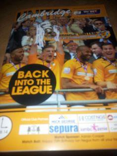 The league returners Cambridge United, Company Logo, Wrestling, The Unit, Logos, Sports, Lucha Libre, Hs Sports, Logo