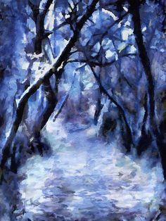 Stunning digital painting by Menega Sabidussi