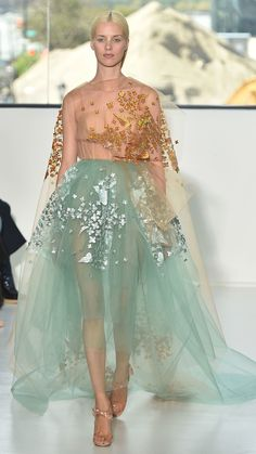 Prettiest dresses of NYFW: Delpozo Spring/Summer 2015 via @stylelist | http://aol.it/1BKzrAH