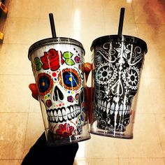The Day of the Dead Skull Tumbler - My Sugar skull