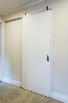 Mardeco M Series Flush Pull And JNF Chariott Sliding Door Track. Pocket Door  Hardware