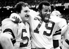 Randy White and Harvey Martin- we used to listen to the Harvey Martin show on the radio day after a game