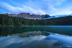 Carezza Lake by Francesco Vaninetti on 500px