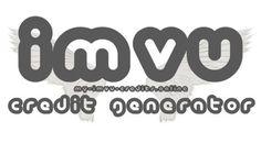 Free IMVU Credits Generator No Survey No Download.