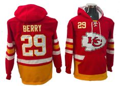 Kansas City Chiefs Lacer - Eric Berry Red Pullover