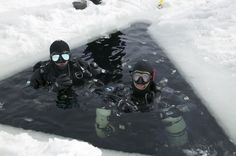 Ice Diving-✅ DONE