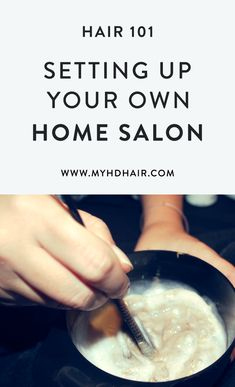 Hair 101: Setting Up Your Home Salon
