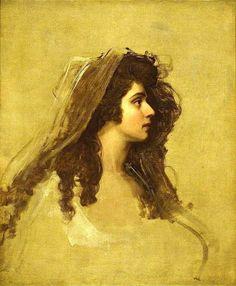 Portrait de Emma Hamilton, per George Romney Pre Raphaelite, Art Uk, Art Techniques, Great Artists, A4 Poster, Art History, Art Reproductions, Art Museum, Oil On Canvas