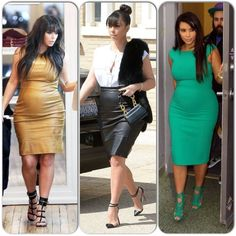Pregnant Kim Kardashian, beautiful!  Great inspiration!