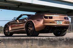Необычно коричневый ZL1 Chevrolet Camaro