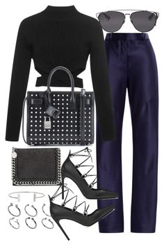 """Untitled #19327"" by florencia95 ❤ liked on Polyvore featuring Thakoon, Jonathan Simkhai, STELLA McCARTNEY, Yves Saint Laurent, ASOS, Humble Chic and Christian Dior"