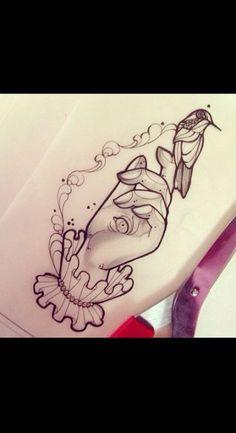 ideas for humming bird sketch hummingbird drawing a tattoo Time Tattoos, New Tattoos, Hand Tattoos, Cool Tattoos, Hummingbird Drawing, Hummingbird Tattoo, Tattoo Bird, Tattoo Sketches, Tattoo Drawings
