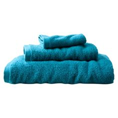 Room Essentials turqoise towels - Sea Going