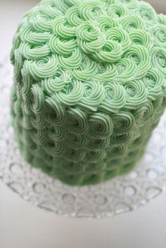 Rosette Cake by Starbird Bakehouse, via Flickr