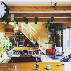 階段/journal standard Furniture/観葉植物/BESSの家…などのインテリア実例 - 2016-04-10 01:38:29… Living Place, Home Hacks, Loft, Places, House, Furniture, Home Decor, Houses, Decoration Home
