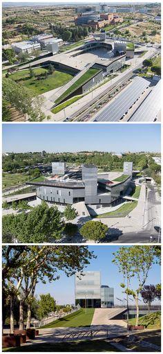 MTM arquitectos construct plaza major at UAM, madrid