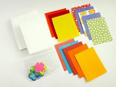Your place to buy and sell all things handmade Craft Kits, Note Cards, My Etsy Shop, Polka Dots, Notes, Green, Handmade, Crafts, Stuff To Buy