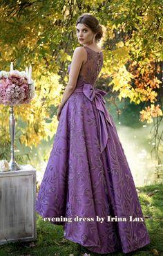 Вечернее платье Снежана №7845