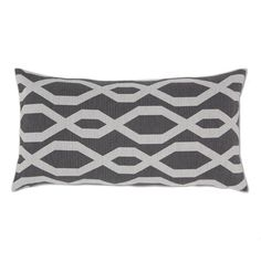 Black and White Gate Throw Pillow | Crane & Canopy