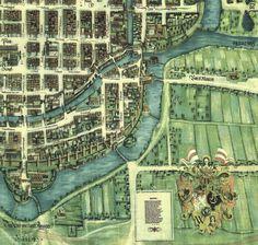 Plan Wrocławia z1562 roku